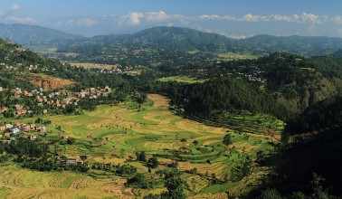 Kathmandu valley tours combined Balthali village hiking